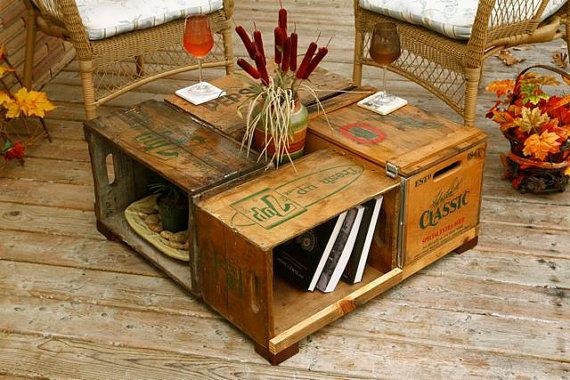 Cool Way To Reuse Old Soda Boxes And Think Of The Possibilities With Paint Decoupage