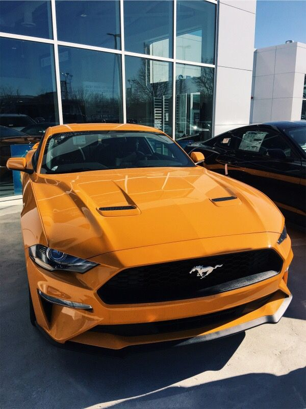 Joyride Orange Mustang Mustangclassiccars Beauty Modern Vsco