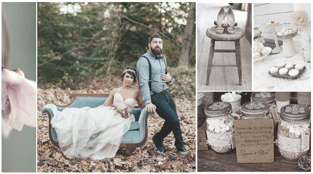 Le mariage champêtre, un mariage qui a le vent en poupe !