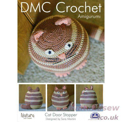 Cat Door Stopper Crochet Pattern