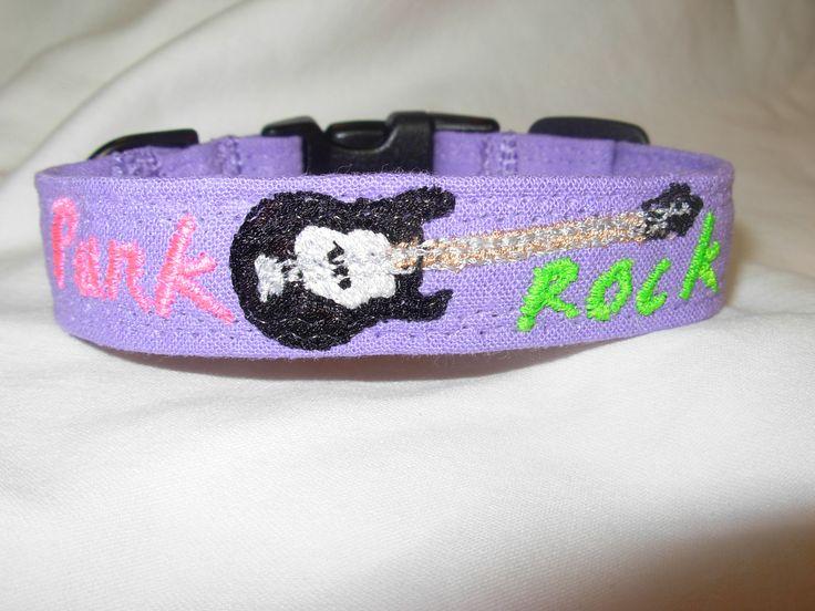 Embroidered Dog Collar