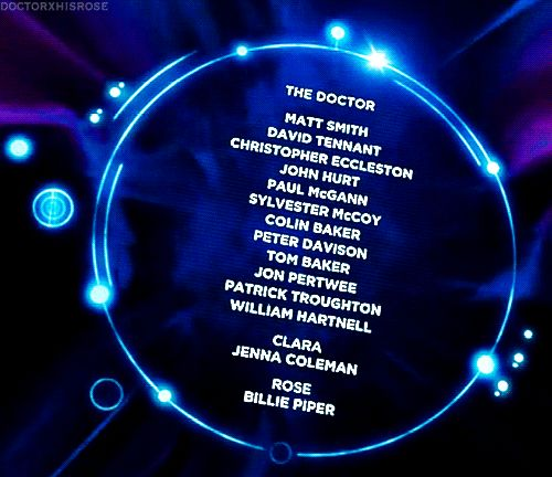 """These were pretty much the greatest credits ever and we're still hyperventilating about it. 