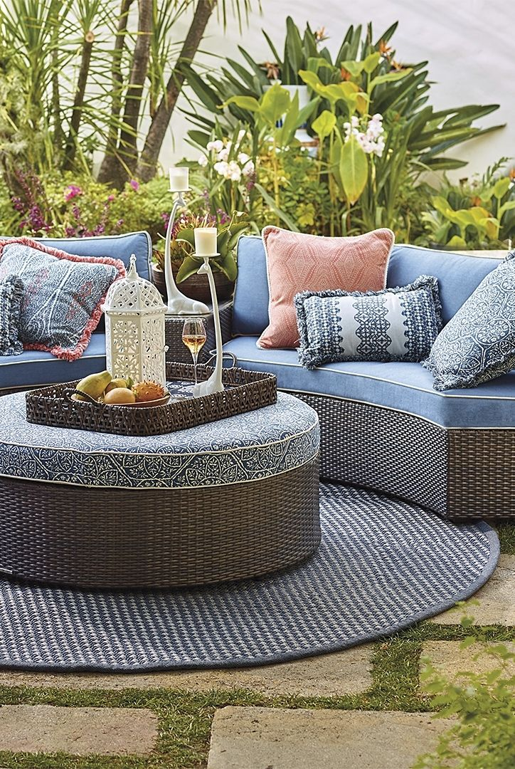 Pasadena. Swank But Relaxed. Modular Curves Form The Ultimate Conversation  Piece. | Frontgate. Furniture IdeasOutdoor ...