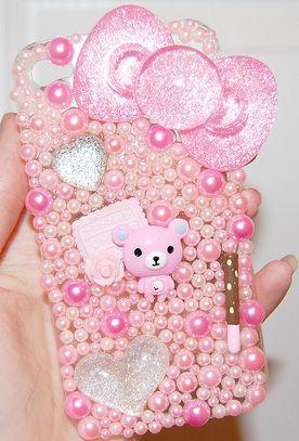 best website fe616 ccaba etsy.com/shop/joliepetitedeco #decoden #kawaii #pink #glitter ...