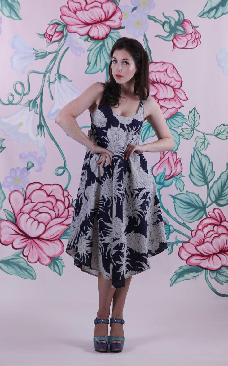 Harriett Falvey - Pineapple Dress