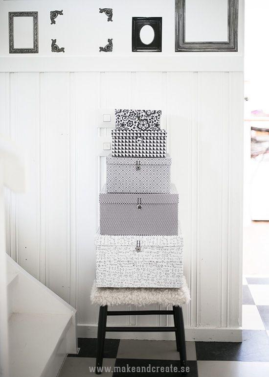 Lådor med ny look - Pysseltips - Make & Create