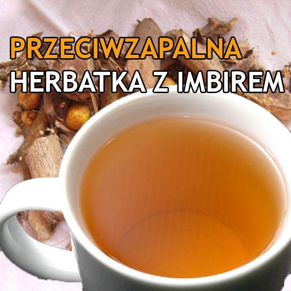 Dolina ziół: Przeciwzapalna herbatka imbirowo kurkumowa z miodem