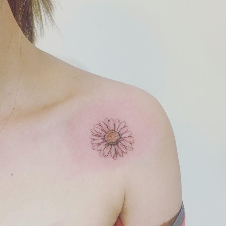 Afbeeldingsresultaat voor sunflower tattoo small
