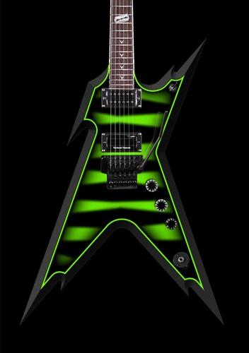 B C A D Cbfe E C Guitar Garage Dean Guitars on Dean Dime Razorback V