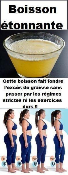 Boisson étonnante pour fondre l'excès de graisse sans passer par les régimes strictes ni les exercices durs !! – Baudin Laure
