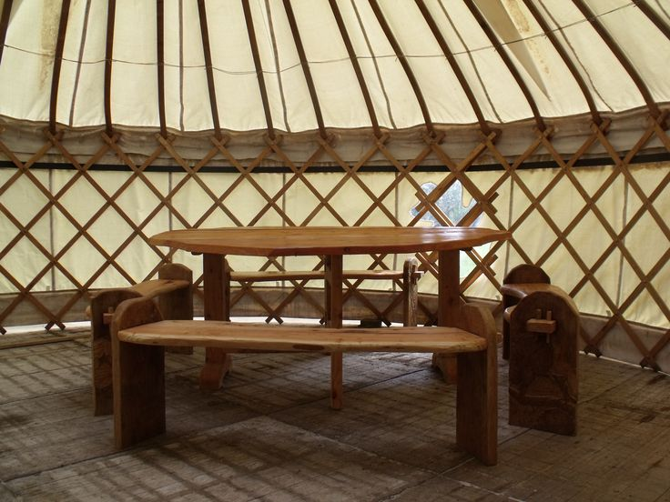 how to build a yurt burning man