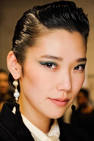 Hairstyle. Model: Tao Okamoto
