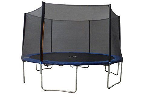 ExacMe 12' 14' 15' Trampoline Heavy Duty Frame w/Safety Pad & Enclosure Net & Ladder S12-S15 (15ft 6182-S15) - http://www.exercisejoy.com/exacme-12-14-15-trampoline-heavy-duty-frame-wsafety-pad-enclosure-net-ladder-s12-s15-15ft-6182-s15/fitness/