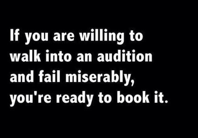 auditions.