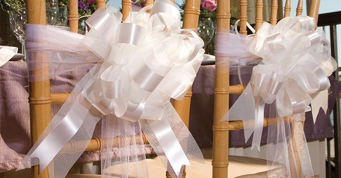 Create an elegant atmosphere with these wedding decoration ideas using $1 craft supplies from Dollar Tree