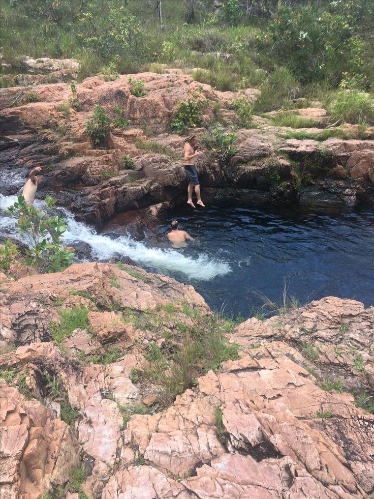 Darwin waterfalls in Litchfield National Park, NT