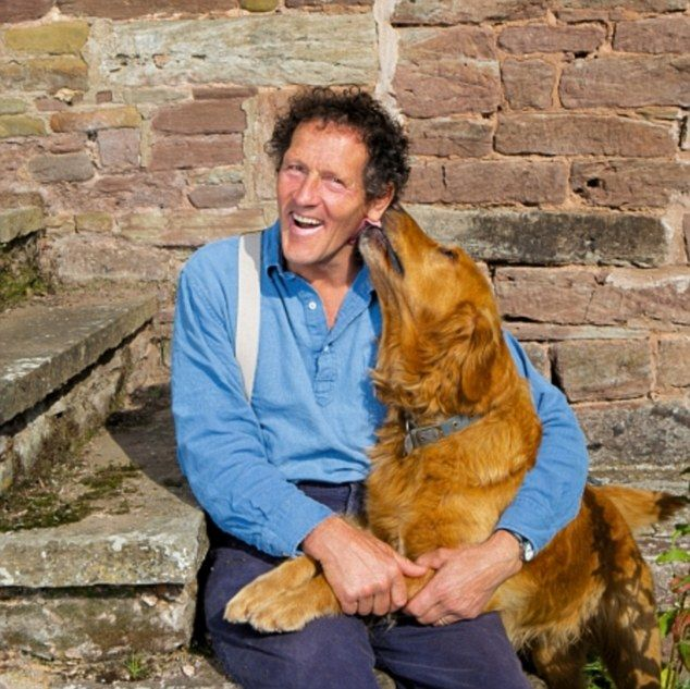 Monty, now 60 and his golden retriever Nigel have received a few health scares in the past