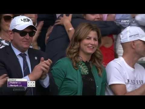 60FPS Federer - Berdych Wimbledon 2017 - YouTube