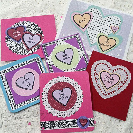 make your own valentine's day bingo