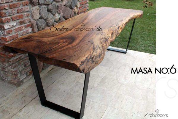 ham ağaç masa #ceviz