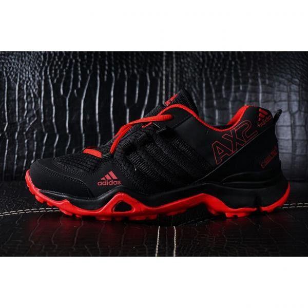 Saya Menjual Sepatu Hiking Pria Adidas Ax2 Goretex Black Red
