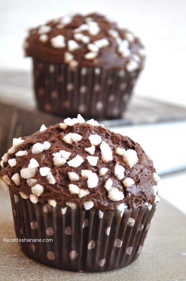Muffins au chocolat, LA recette
