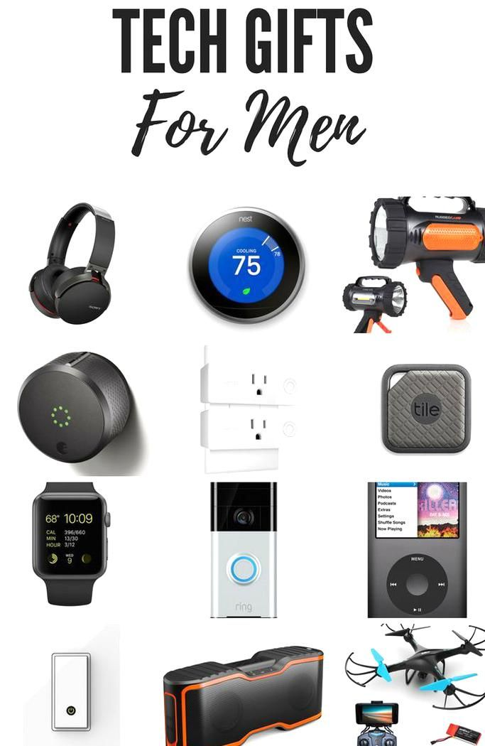 The Best Tech Gifts For Men Smart Home Bluetooth Technology Entertainment Tech Gifts For Men Cool Tech Gifts Tech Gifts