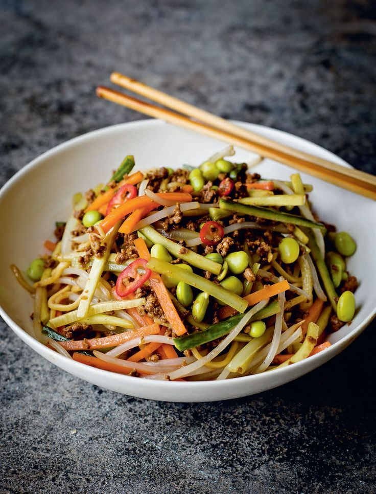Zhajiang noodles recipe from Every Grain of Rice by Fuchsia Dunlop | Cooked.com