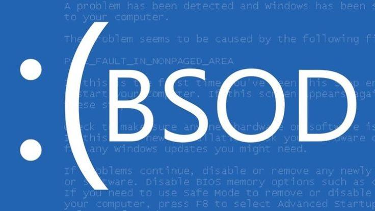 Полный перечень всех стоп-ошибок Windows