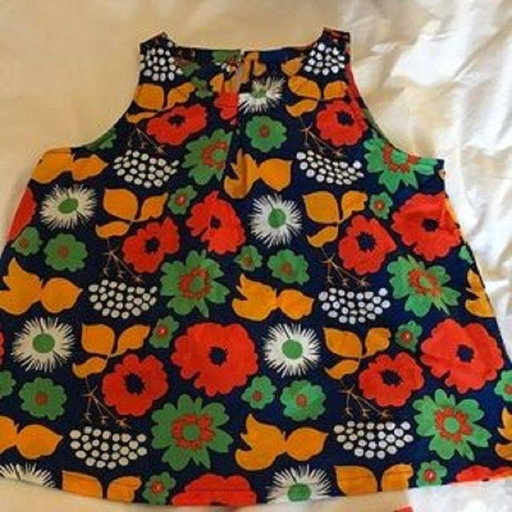 Marimekko Girl's Swim Suit Cover, Kukkatori Design  | eBay