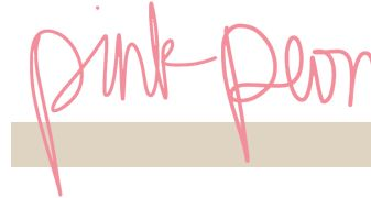 Pink Peonies: one of my favorite fashion blogs