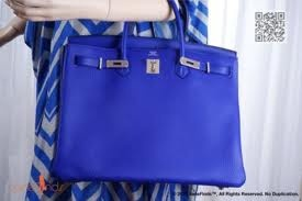 Electric Blue Birkin Obsession. on Pinterest | Electric Blue ...