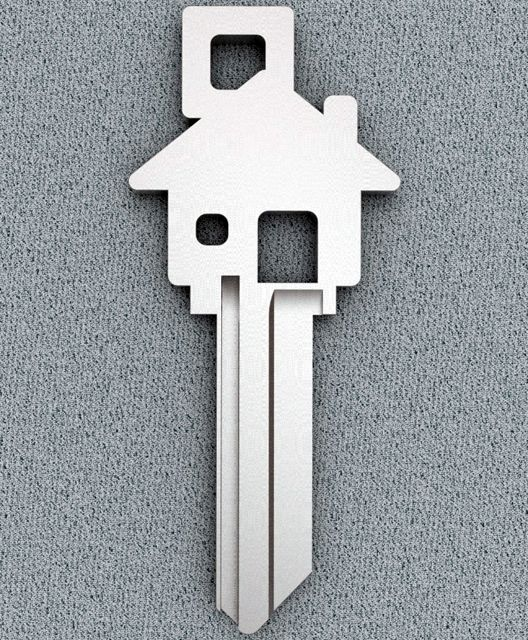 Framed this  House Key along with pictures from framing, roofing & final inspection of brand new home purchase  (Petagadget website takes you to Amazon)