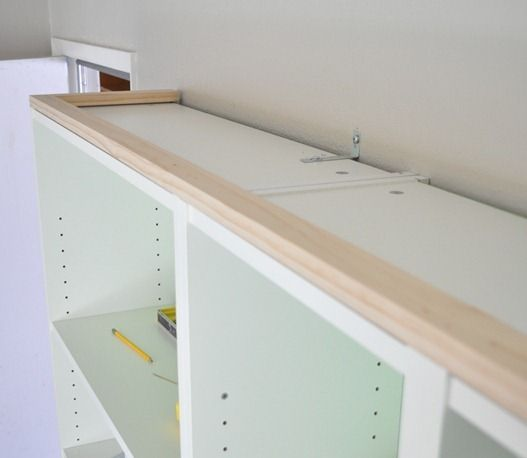 How To Make Ikea Billy Bookcases Look Like Built Ins Been Meaning Do