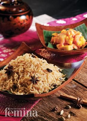 Femina.co.id: Nasi Minyak dan Sambal Nanas