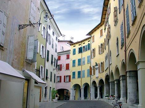 Udine..this is where my host family lived who I lived with.