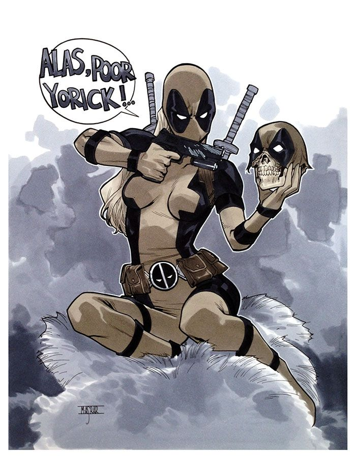 10 images about deadpool he is that awesome to get his