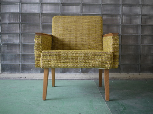 1960s retro vintage designer arm lounge chair  Item has an interesting shape. A great look in the right context. Free shipping. Any questions ask.   If your interested in this item contact Jam@iamjam.net Deal direct through PayPal and pay less, make me an offer