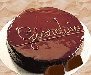 Torta Piemontese Gianduia
