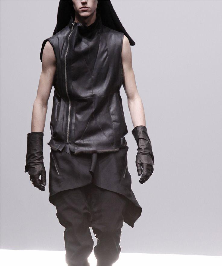 Rick Owens   Post-apocalyptic Avant-Garde Fashion   #fashion #leather