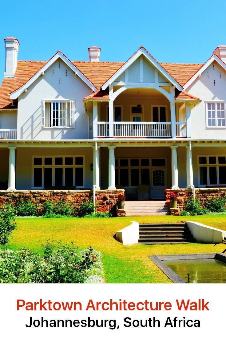 For everyone who is interested in architecture, Parktown is an exceptional area to explore. It is the oldest and most elite district of Johannesburg and you will find stately buildings that date back to the late 19th century.