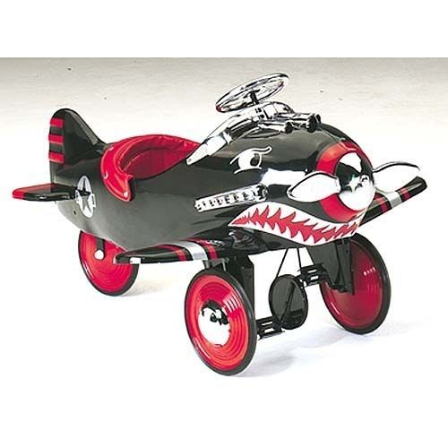 The Black Shark Plane Bike | Community Post: 42 Awesome Kid Things That Adults Secretly Wish They Could Have