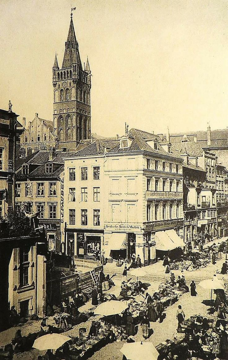 Königsberg Pr.   Altstädt´scher Markt