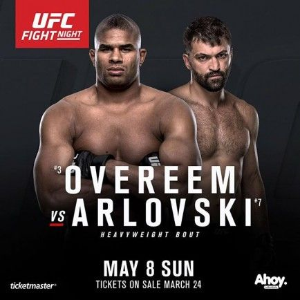 UFC Fight Night 87 Results Alistair Overeem def. Andrei Arlovski via TKO – Round 2, 1:12 Stefan Struve def. Antonio Silva via TKO (strikes) – Round 1, 0:16 Gunnar Nelson def. Albert Tumenov via submission (rear-naked choke) – Round 2, 3:15 Germaine de Randamie def. Anna Elmose via TKO (knees and punch) – Round …