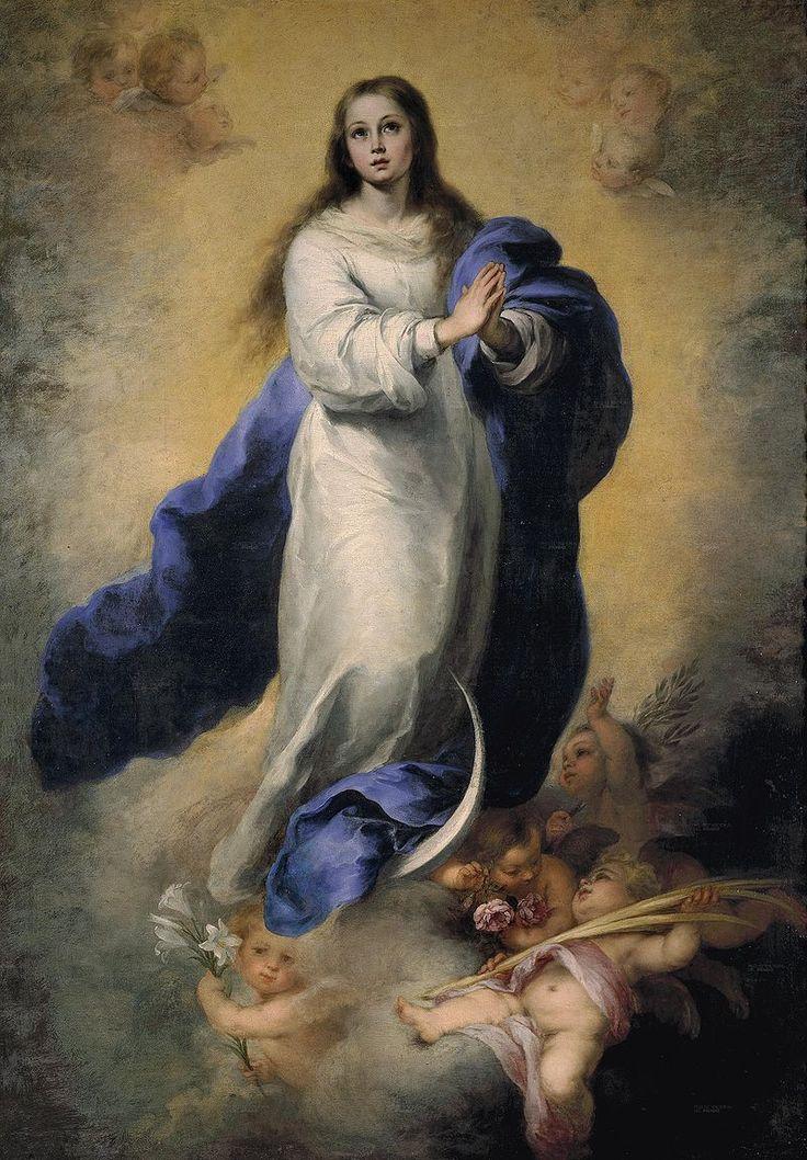La Inmaculada del Escorial, de Bartolomé Esteban Murillo. (Museo del Prado, Madrid).