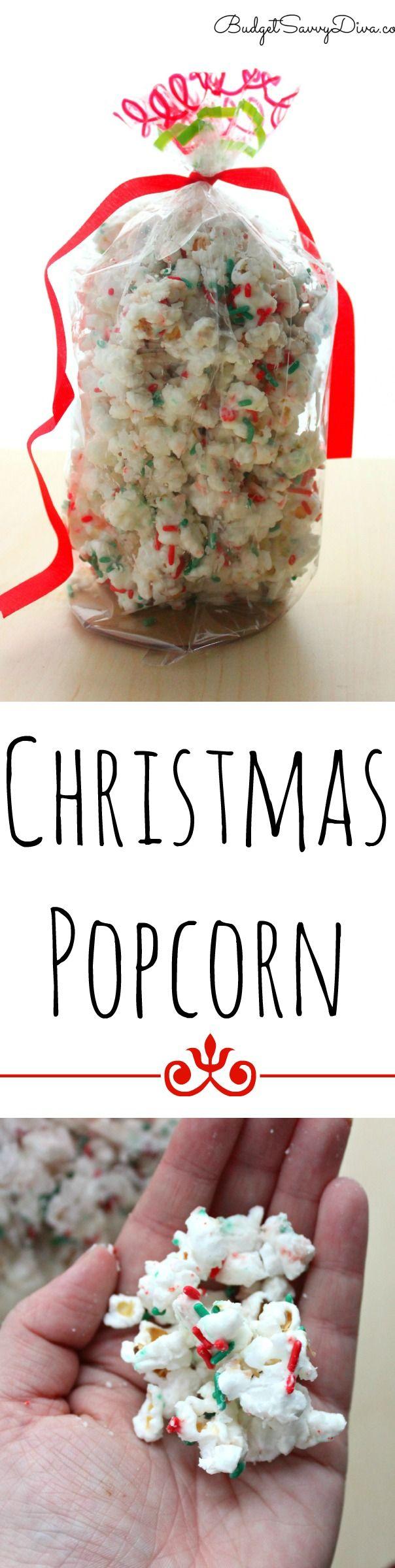 Christmas Popcorn Recipe