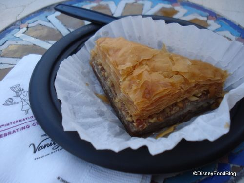 """Baklava _ Morocco EPCOT """"The Best Thing I Ever Ate in Disney!"""": Snacks and Drinks 