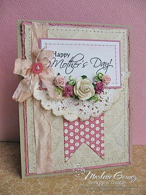 This would be fun design on CTMH canvas journal with cricut cut flowers, colonial white rosette ribbon.