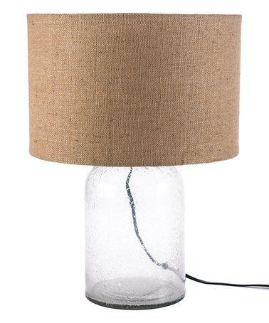 Seeded-Bottle Table Lamp #zulily #zulilyfinds