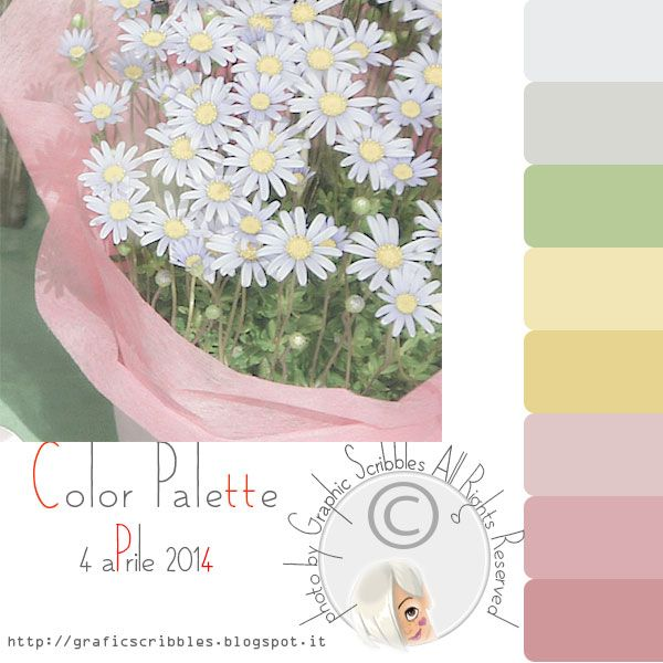 Color Palette of 4 aprile 2014-Longing for Spring http://graficscribbles.blogspot.it/2014/04/color-palette-of-4-aprile-2014-longing.html
